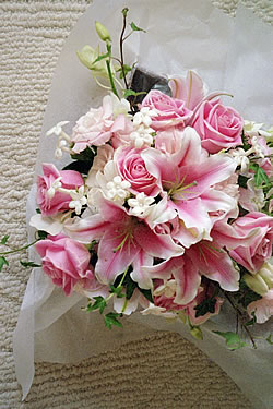 Wedding flower bridal bouquet Marin county florist